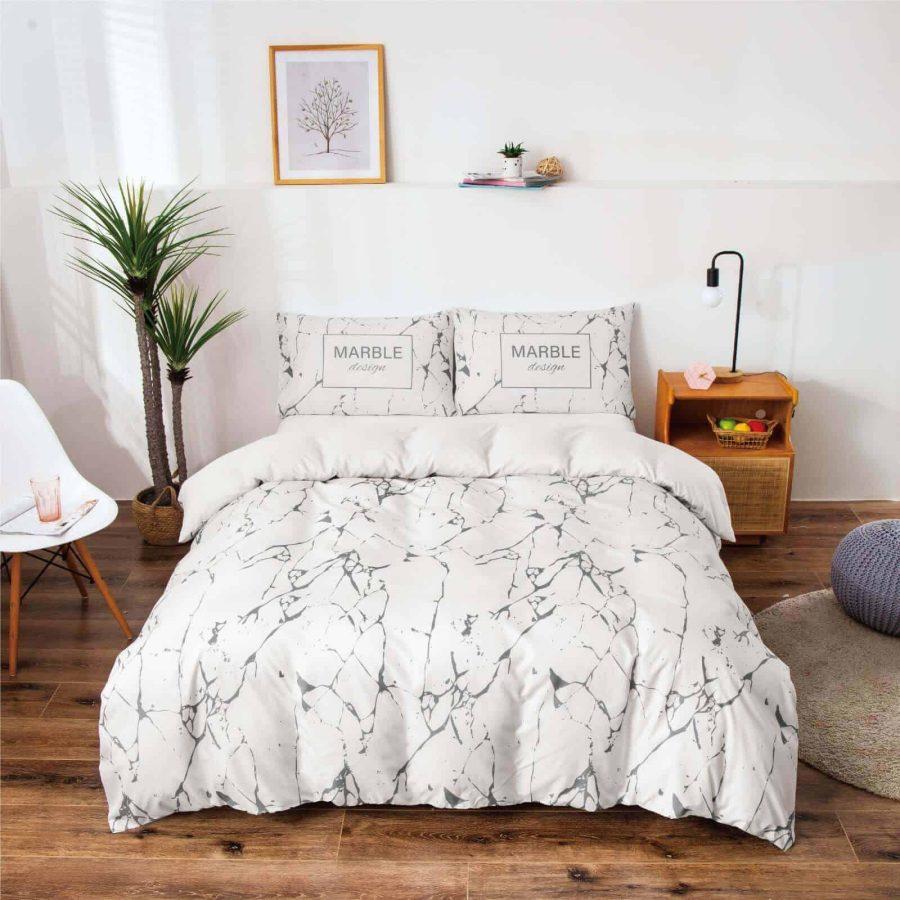 סט מצעים מעוצב מיטה זוגית