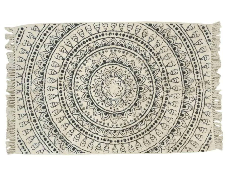 יופיטר שטיח כותנה מלבן