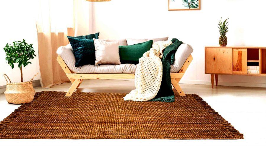 אנג'לו שטיח חבל עבודת יד