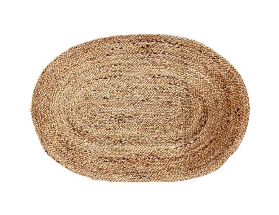 שטיח חבלים אובלי בוהו שיק
