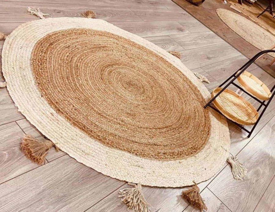 שטיח חבלים קונטר בוהו שיק