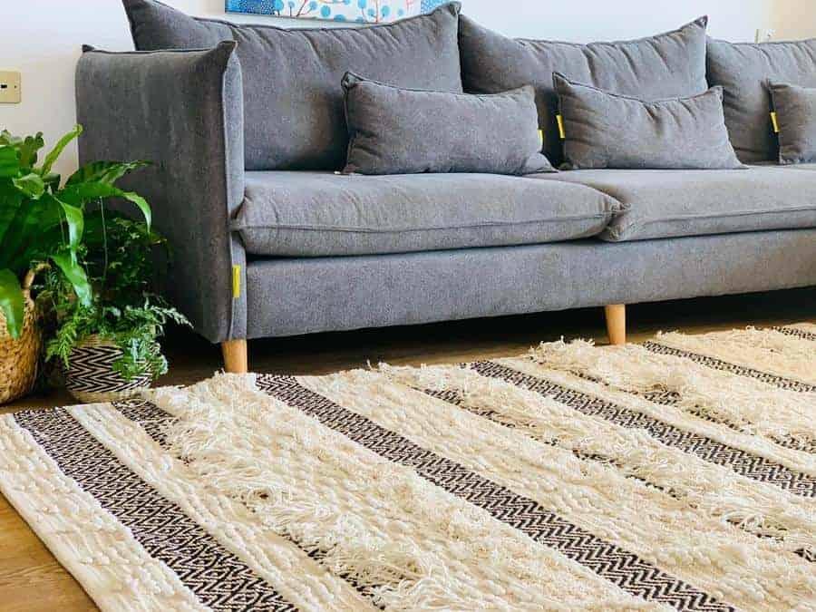 שטיח בוהו 05 כותנה