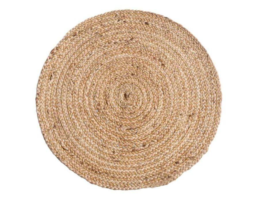 טהיטי שטיח חבל עגול