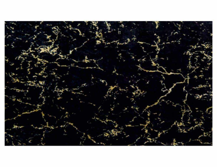 דקסון שטיח שיש שחור מלבן