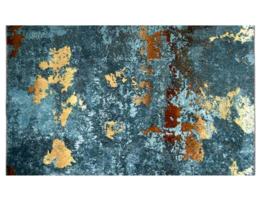 שטיח טורקיז זהרה