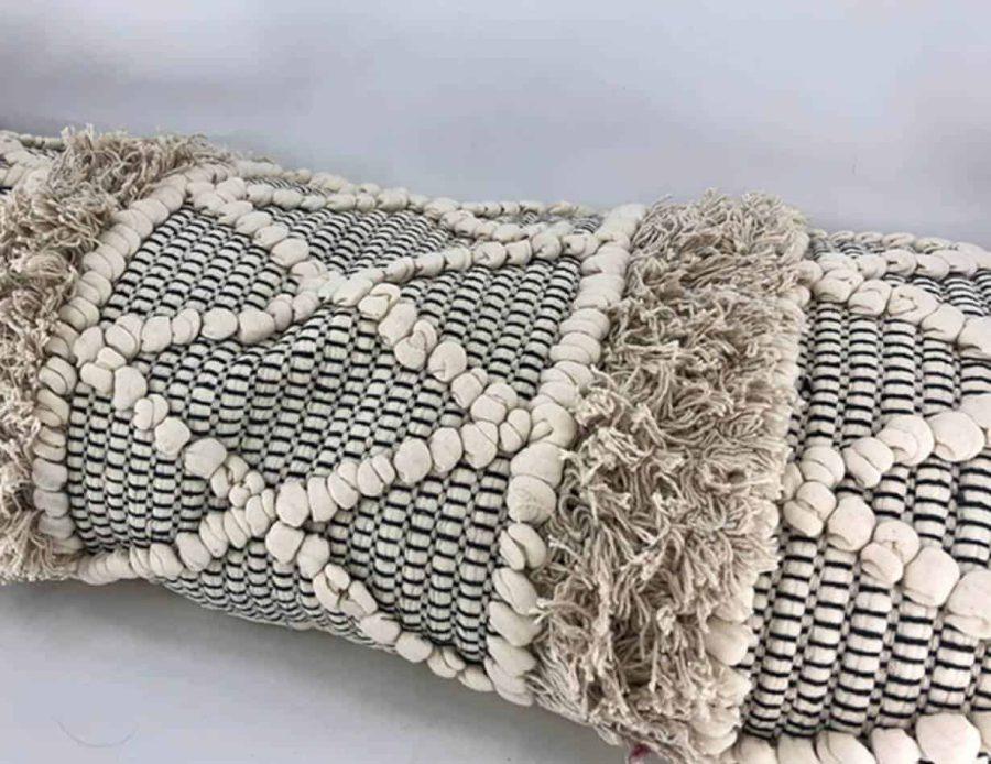 כרית נוי בוהו שיק טבעי