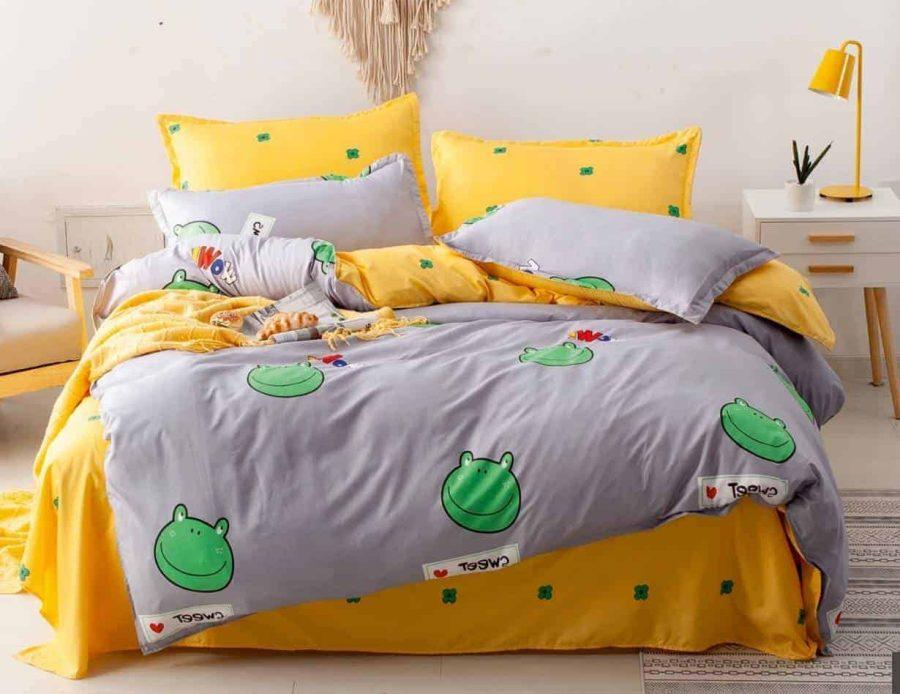 סט מצעים למיטה צפרדע פסטיבל 05