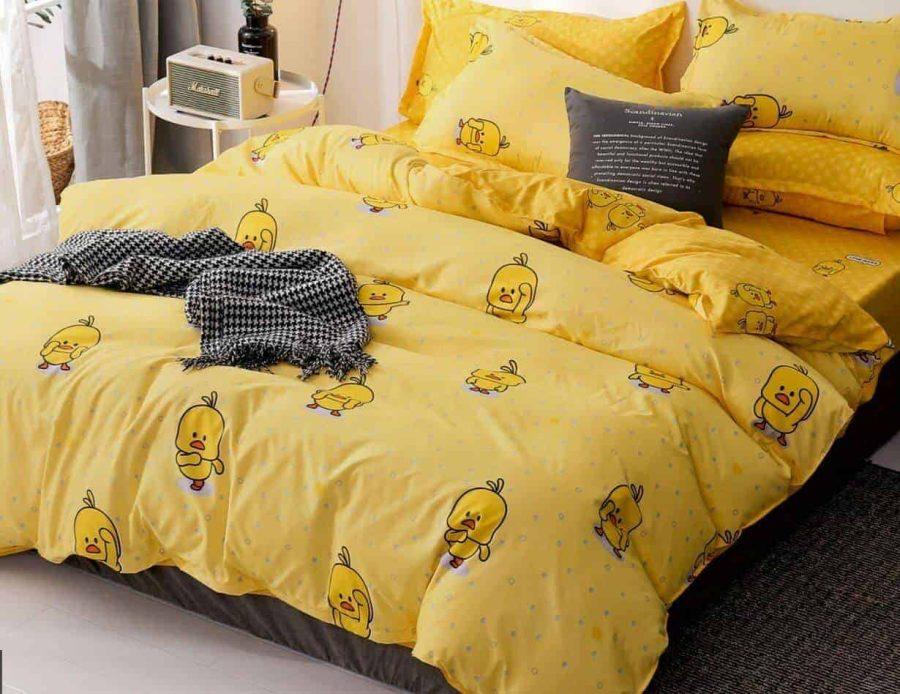 סט מצעים למיטה זוגית ספרינג 76