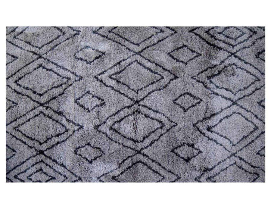 ספלנדיד שטיח שאגי אפור