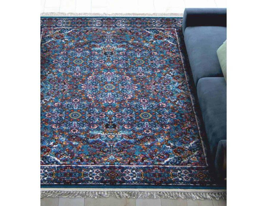 שטיח טורקיז קלאסי רייאן