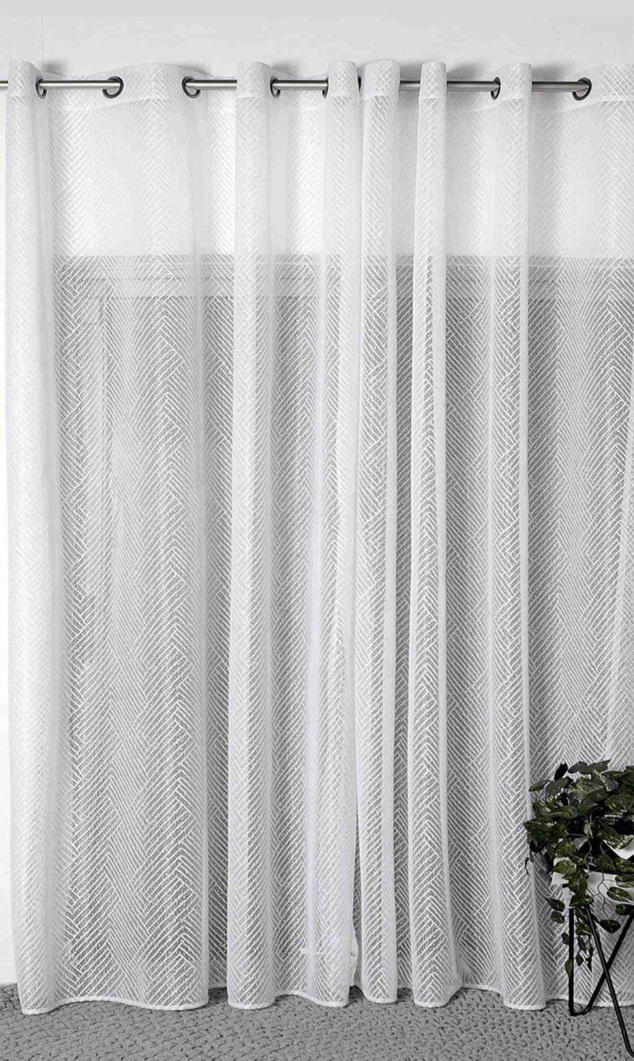 וילון רשת מעוצב לסלון ולחדר השינה - סוצ'י