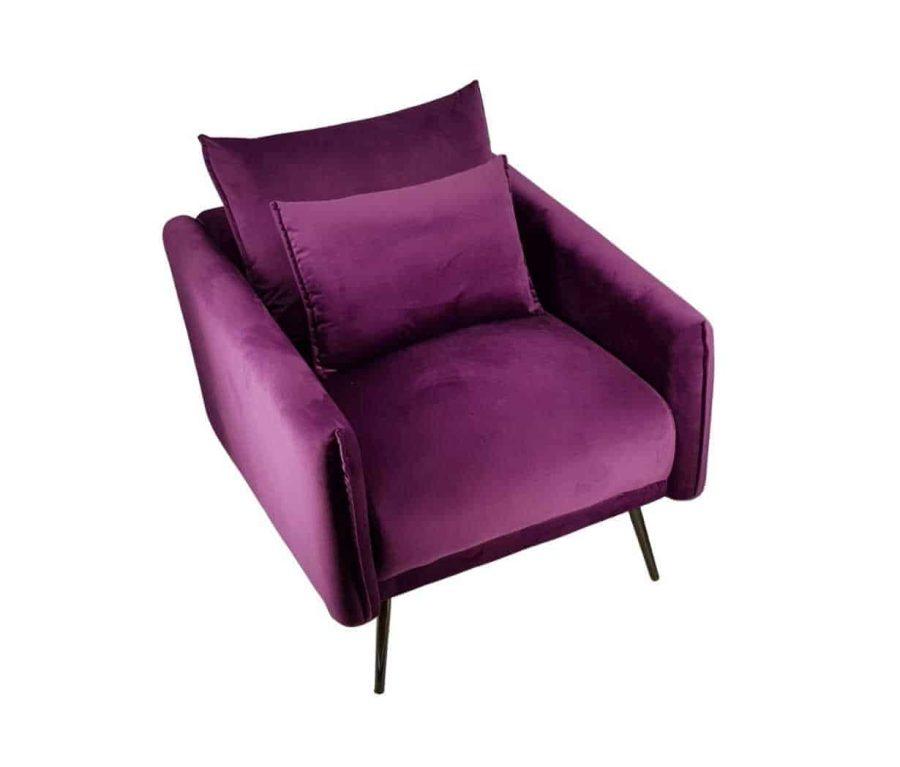 כורסא סגולה פינוק
