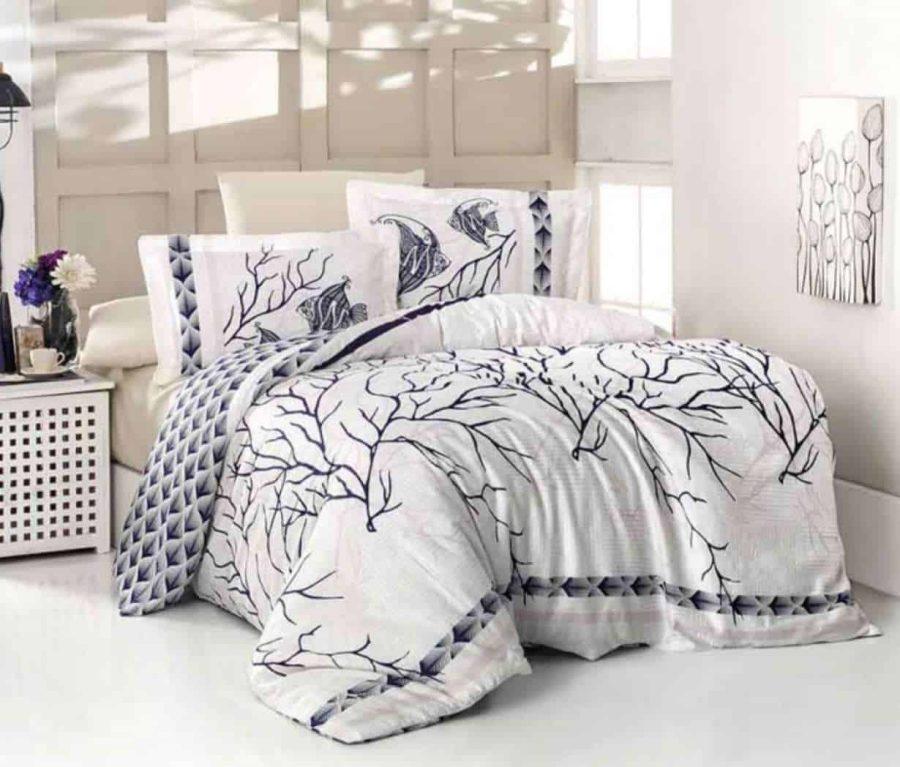 מצעי סאטן כותנה למיטה זוגית, יחיד, מיטה וחצי, קינג סייז