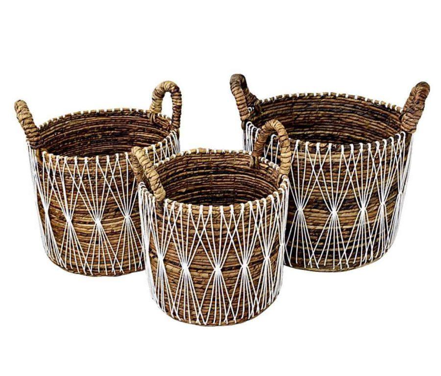 סלסלאות מעוצבות בסגנון בוהו שיק - אסיה