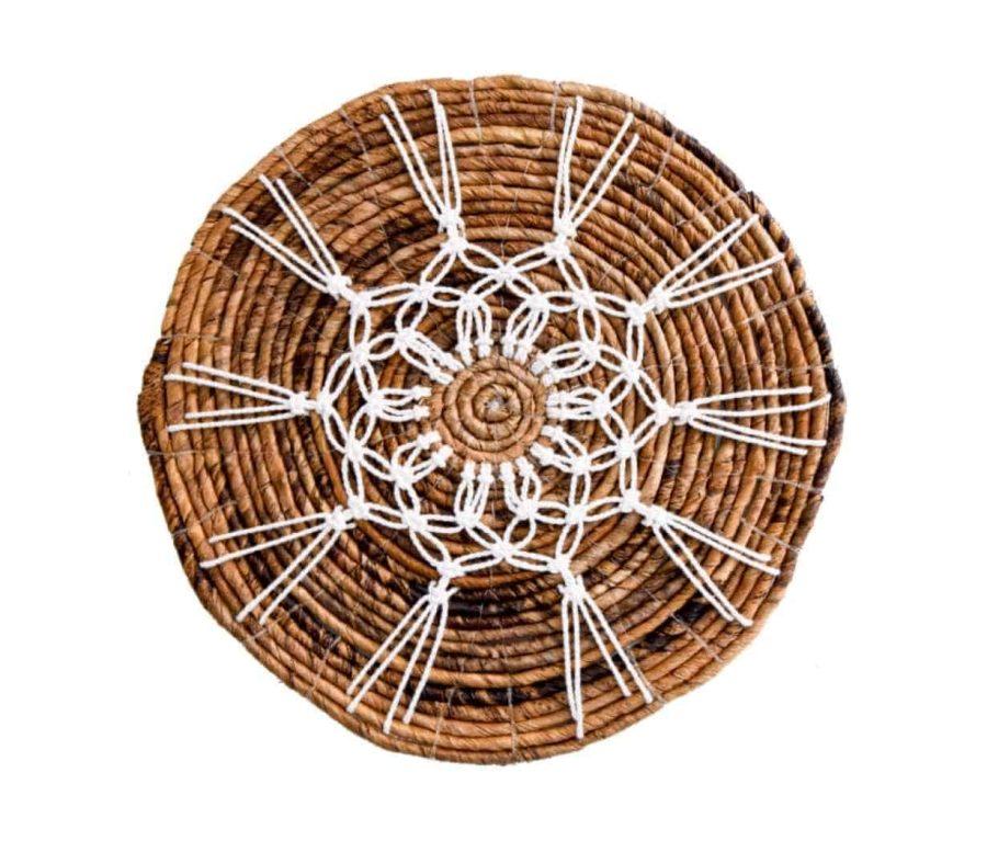 פלייסמנט עץ מקרמה בוהושיק