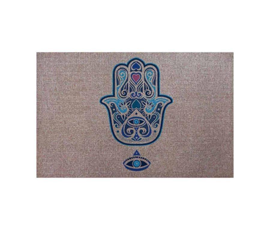 שטיח כניסה לבית גומי עבה