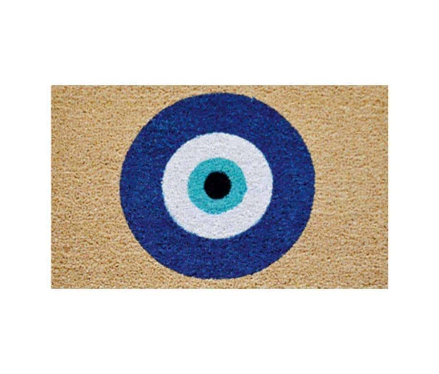 שטיח כניסה לבית קוקוס איכותי - הום סטיילינג - עין הרע - העין הטובה