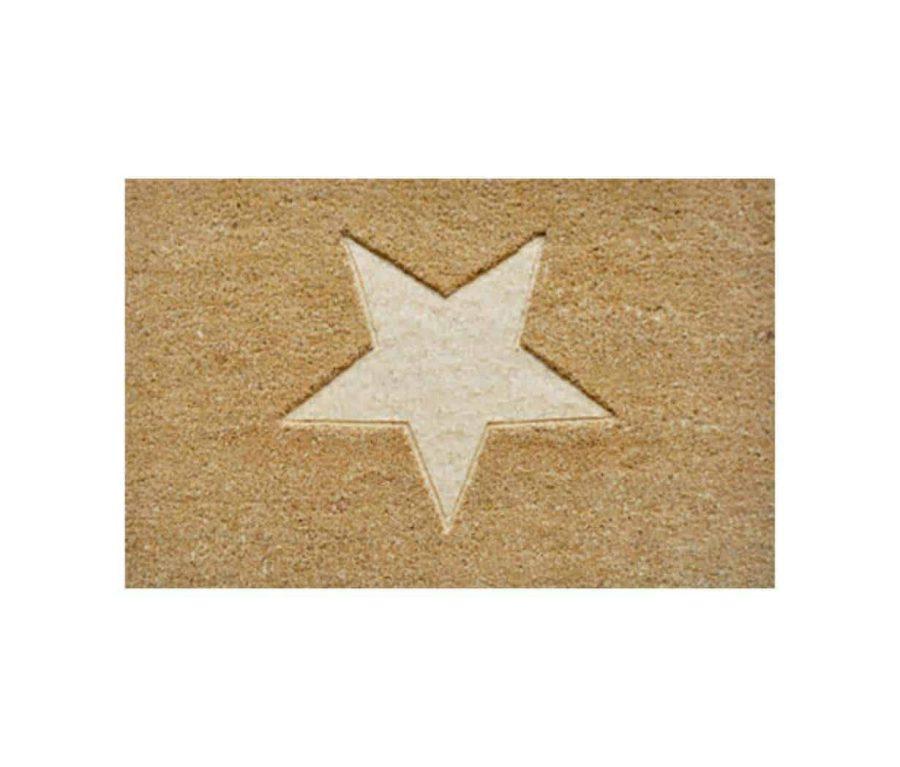 שטיח כניסה לבית קוקוס איכותי - הום סטיילינג - כוכב