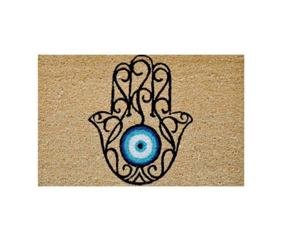 שטיח כניסה לבית קוקוס איכותי - הום סטיילינג - חמסה