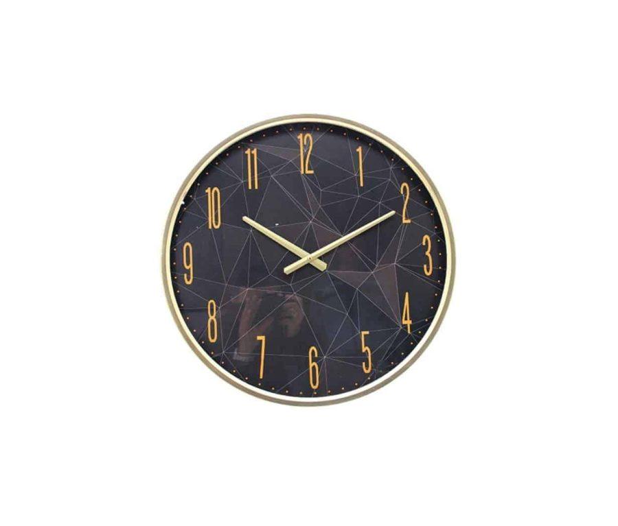 שעון קיר אורבני שחור