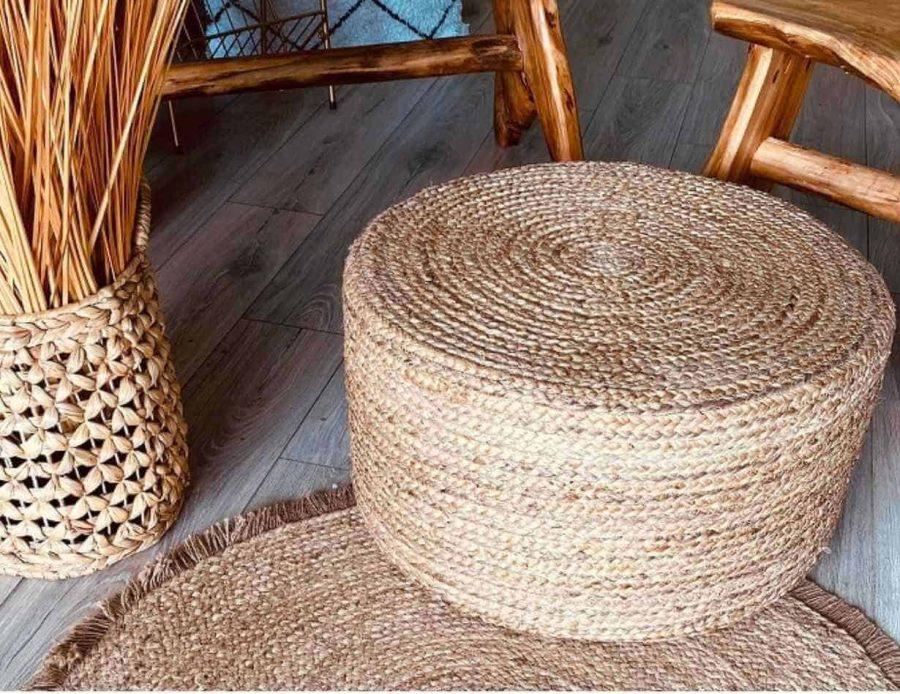 הדום חבל טבעי הודו בסגנון כפרי בוהו שיק