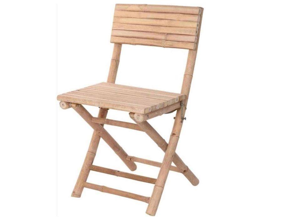 כיסא במבוק מתקפל בסגנון בוהו שיק