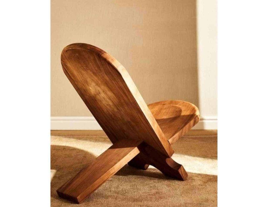 כיסא מעץ טרופי סואר - ריהוט משלים כפרי