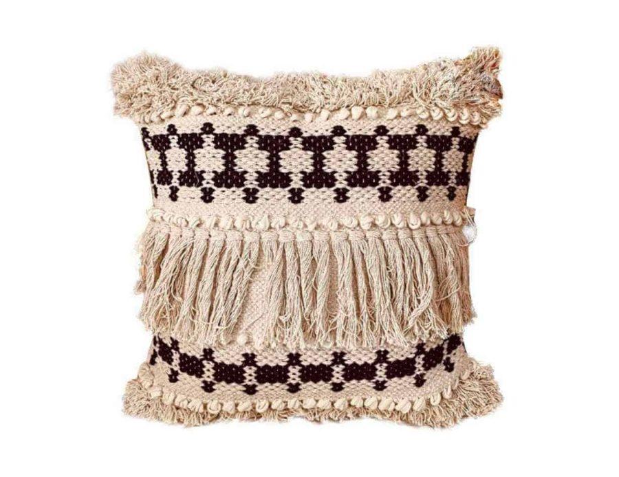 כרית קשמיר בסגנון בוהו שיק כפרי