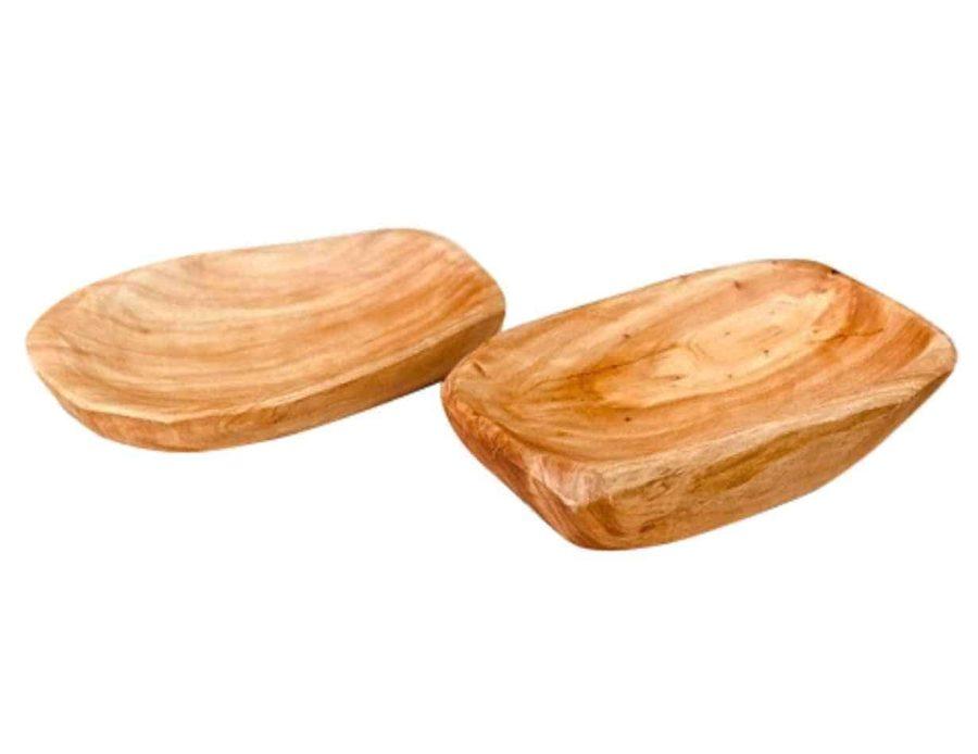 מגש עץ אגוז - כלי בית מעץ - כלי עץ -