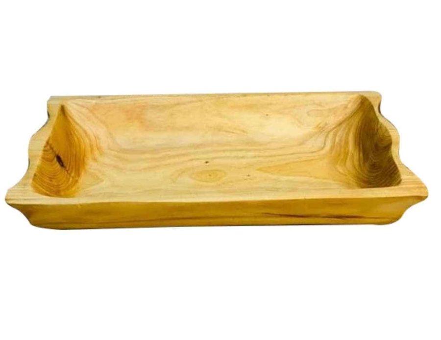 מגש עץ כלי מטבח מעץ