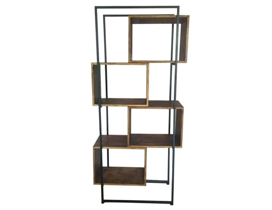 ספריית עץ 4 תאים