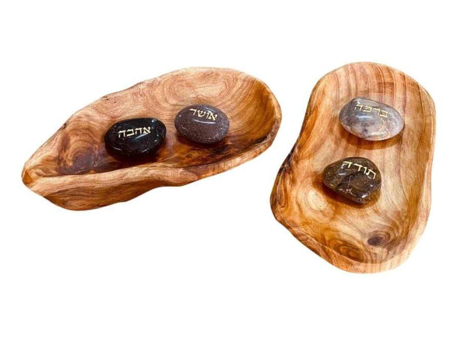 קערת עץ אגוז