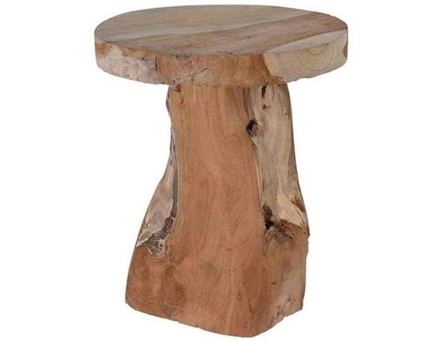 שולחן מיניאטורי עץ טיק