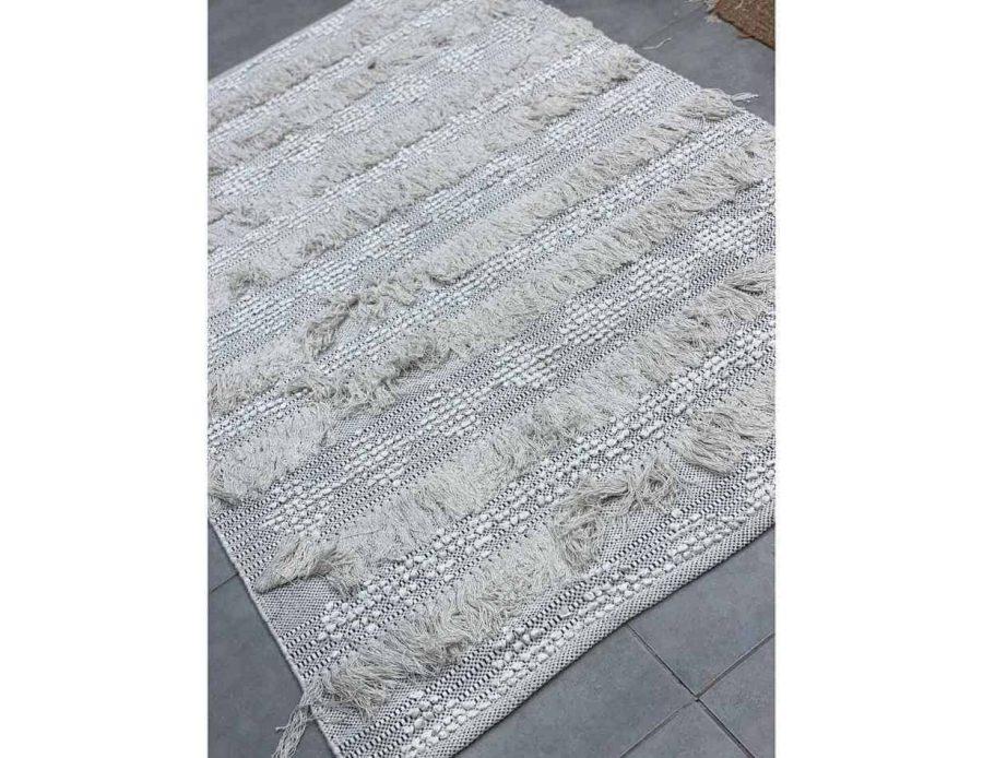 שטיח בוהו שיק בסגנון כפרי עשוי כותנה 06