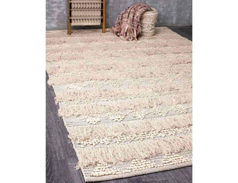 שטיח בוהו שיק בסגנון כפרי עשוי כותנה 07