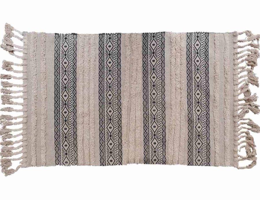 שטיח לסלון ולחדר השינה בוהו שיק כפרי ברבר