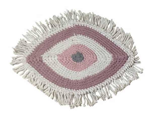 שטיח עין הרע חמסה ורוד