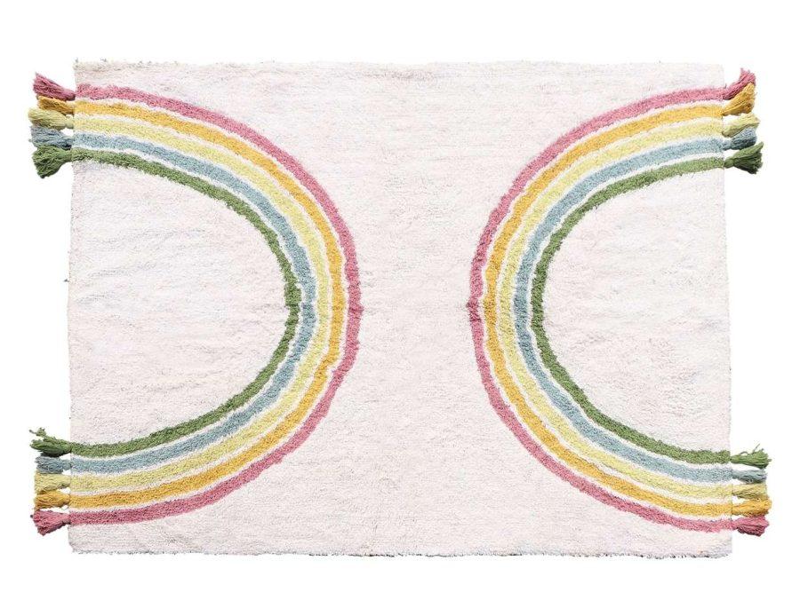 שטיח קשת בענן צבעוני