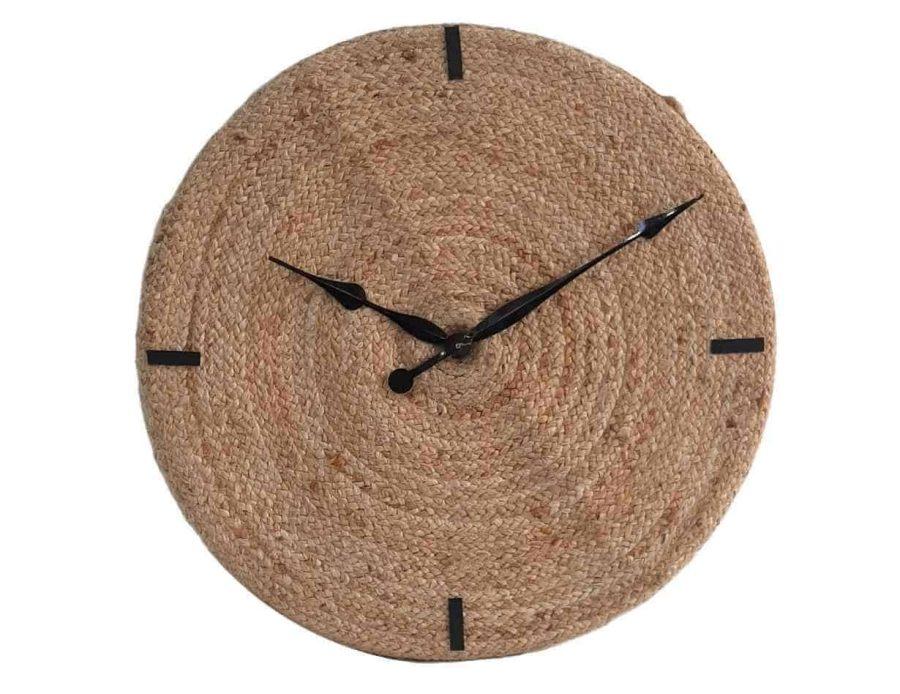שעון קיר חבל בסגנון בוהו שיק