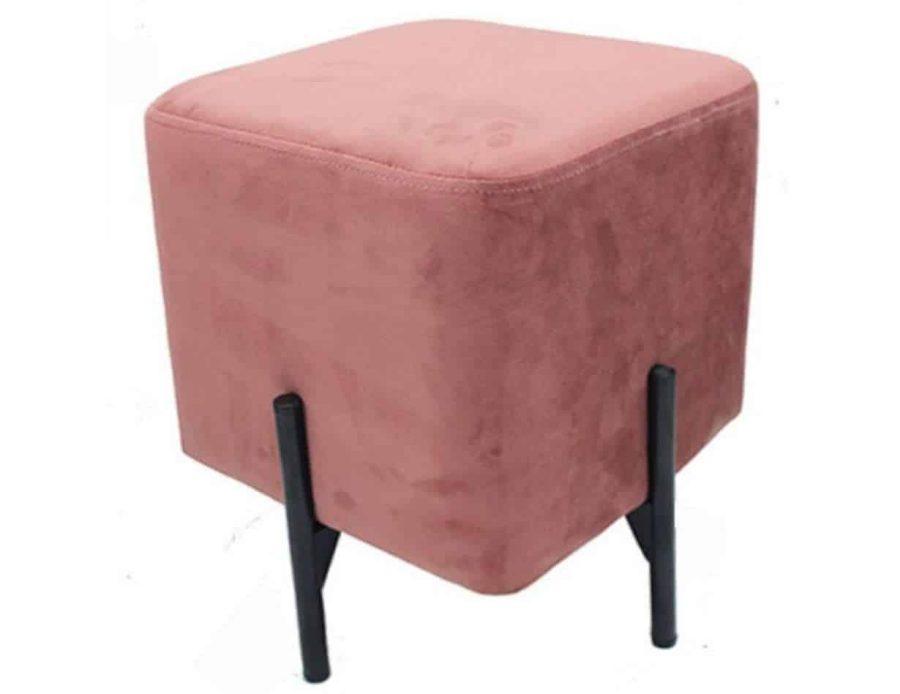הדום ישיבה קטן בצבע ורוד