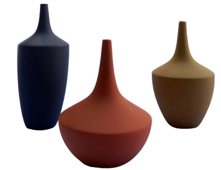 ואזה נורדית - אגרטל נורדי מודרני - אגרטל מודרני מעוצב בצבעים