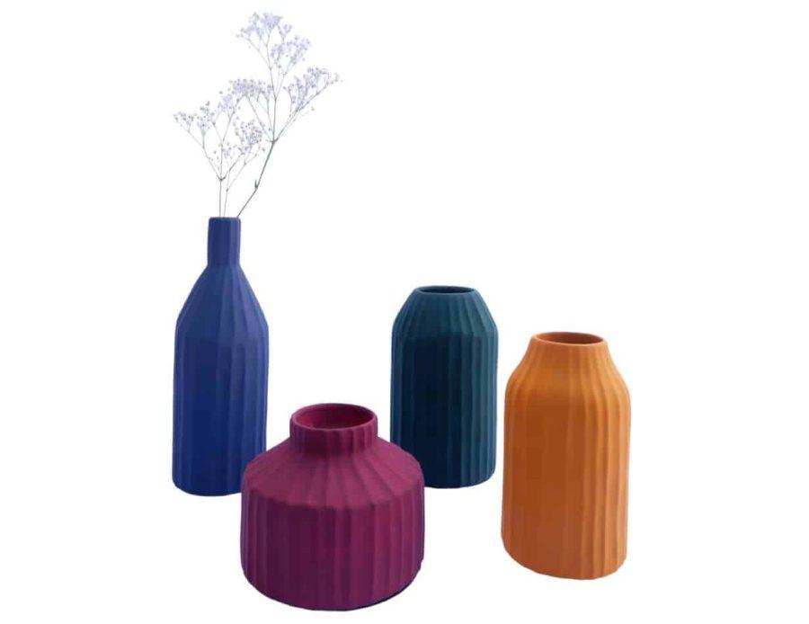 ואזה נורדי - אגרטל נורדי - ואזה מודרנית במגוון צבעים