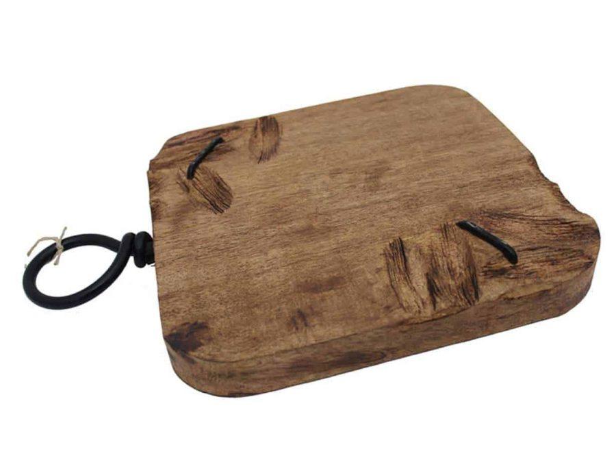 מגש חיתוך עץ מנגו