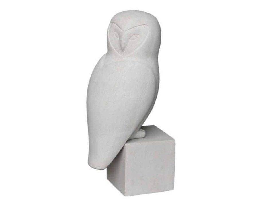 פסל ינשוף - חפצי נוי דקורציה ועיצוב הבית