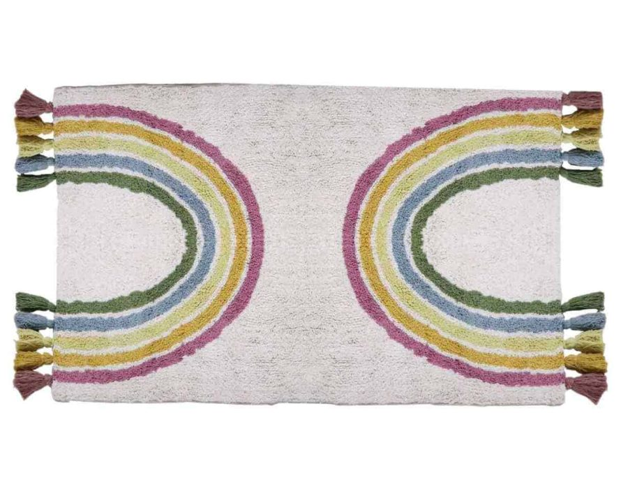 שטיח אמבטיה קשת בענן