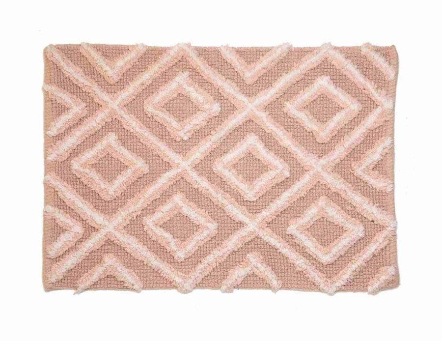 שטיח אמבט פודרה - ורוד