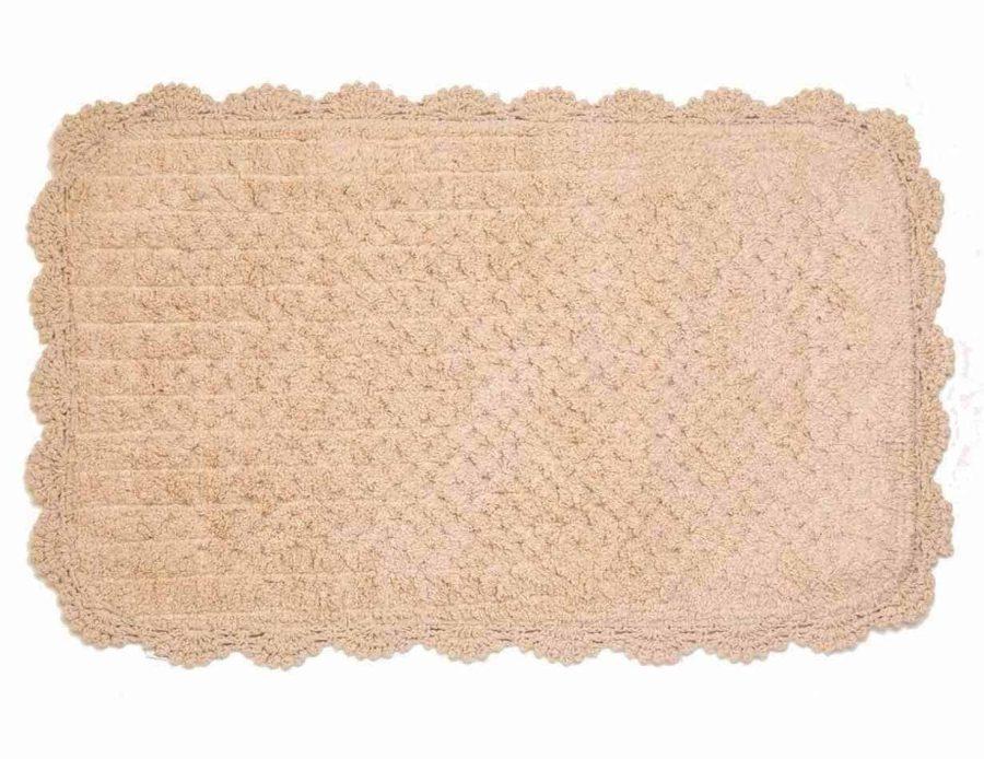 שטיח אמבט- שטיח לחדר רחצה בצבע בג'