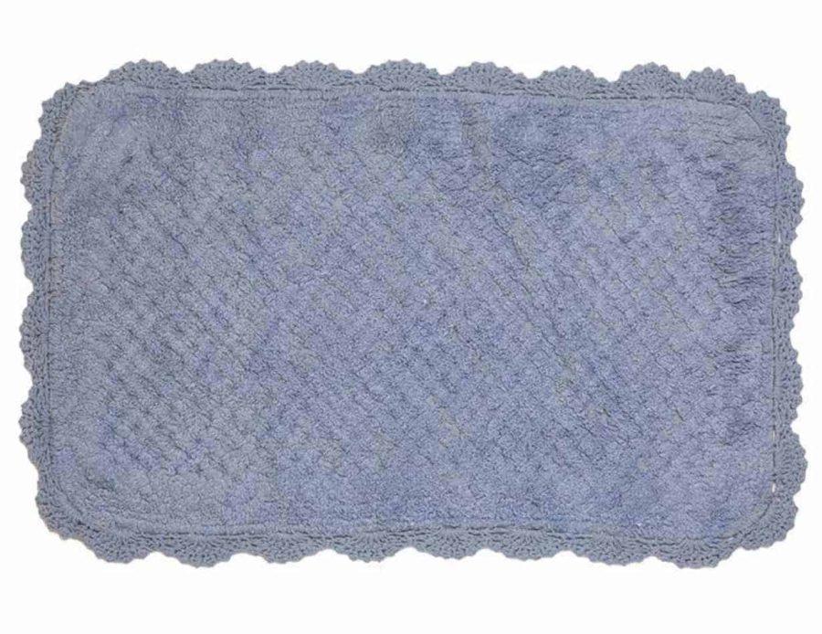 שטיח אמבט- שטיח לחדר רחצה בצבע כחול מרין