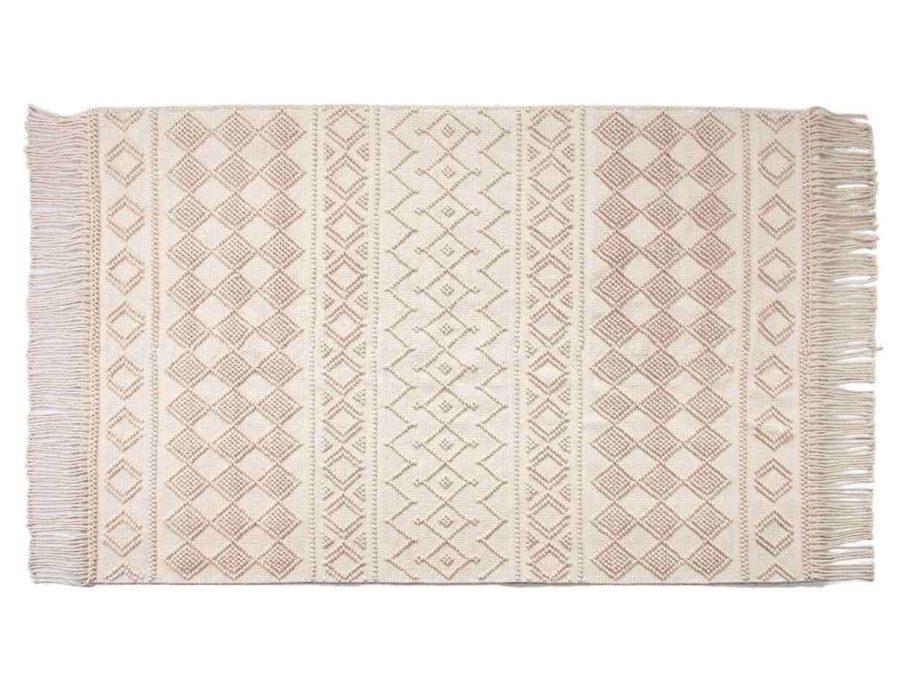 שטיח בוהו לסלון - דגם פנדה