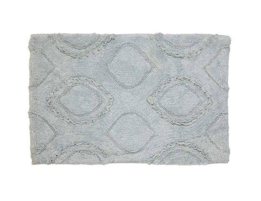 שטיח לחדר האמבט בצבע כחול מרין